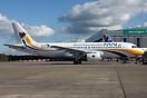 This ex OLT Express Airbus A320 now awaits at Dublin, Ireland for it's...