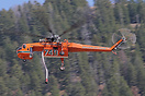 This Sikorsky S-64 was recently fighting forest fires near Jackson, Wy...