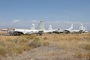A collection of Ex-US Navy Lockheed P-2 Neptunes derelict at Greybull.