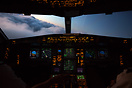 Rolling onto finals onto the ILS approach runway 15 at Cairns just pri...