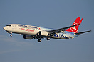 This Turkish Airlines B737-900 TC-JYI has been painted in a special sc...