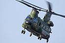 RNAF Chinook D-663 seen here taking part in Exercise Tac Blaze at Carl...