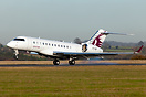 Qatari 9080 arrives from Moscow Vnukovo