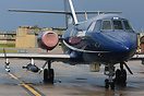 Cobham Falcon 20 is the only civilian aircraft in the UK allowed to ca...