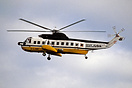 This appropriately registered Sikorsky S-61 helicopter G-LINK operated...