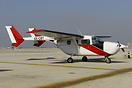 Cessna 337G Super Skymaster 4X-CBT used to spraying silver iodide to i...