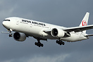 Japan Airlines first Boeing 777-300/ER (JA731J) to wear the new colour...