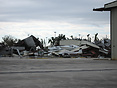 Two hangars completely flattened by Hurrican Wilma. As well as the Cit...