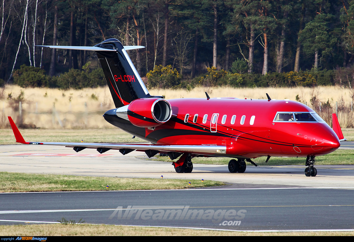Bombardier Challenger 605 - Large Preview - AirTeamImages.com