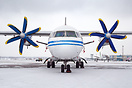 The newest addition to Motor Sich Airlines - former Illich Avia An-140...