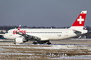 HB-JLT the first A320 to be fitted with sharklets for Swiss Internatio...