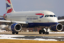 Former BMI Airbus 319 now operating for British Airways 4 times day fr...