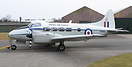 Devon VP967 was built in 1948 was in active RAF service with 21 Squadr...