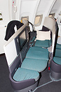 Business Class Seat, Fully Reclined, Upper Deck