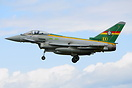 Typhoon ZJ936 operated by 3 Squadron and the specail paint livery cele...