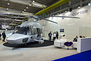 Eurocopter's stand and new EC-175 mock up.