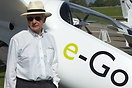 Dr Anthony Bishop co-founder and Director of e-Go aeroplanes. The prot...