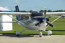 The production example of the new Cessna 182 Turbo Skylane JT-A displa...