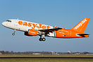"EasyJet Airbus 319 G-EZIW with ""Linate - Fiumicino per tutti"" special ..."