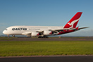 QFA94 LAX-MEL flight diverted to Auckland. After refuel taxing for tak...