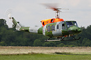 Middle Wallop based Bell 212 AH1 at the Everleigh training area in Sal...