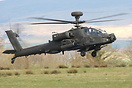 Several Apaches were based at Carlisle during Exercise Joint Warrior 1...