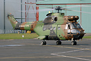 French Army (Armee de Terre) Puma 1632/DBN from 5 RHC at Pau deployed ...
