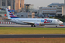 Go2Sky operates its first Boeing 737-400 till mid September out of Ber...