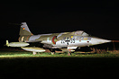 F-104G in JbG34 markings was preserved at Lasham but has since been mo...