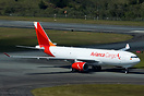 First aircraft wearing the new Avianca Cargo livery