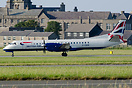 First Saab 2000 in British Airways colours following a cooperation wit...