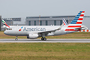 Second A319 for American Airlines is about to perform it's customer ac...