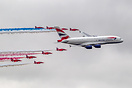 Airbus A380 & Red Arrows