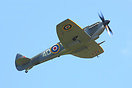 Supermarine Spitfire LF16E is the BBMF latest aircraft flown this year...