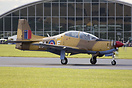 ZF239 seen here in Spitfire Camo Livery at Duxford's September show in...