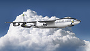 Composite image. The Boeing B-47 Stratojet entered service with the Un...