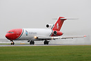 This former Federal Express Boeing 727F has been converted for operati...