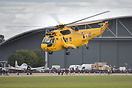 The Sea King ZH543 seen here at Duxford Airshow. Soon to be retired fr...
