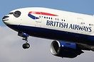 British Airways have painted a Panda face on this Boeing 777-200ER (G-...