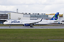 First A321 for JetBlue. Take-off run for it's delivery flight via Port...