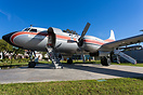 Convair 440 Metropolitan interior has been restored and converted into...