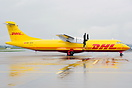 First DHL ATR 72 operated by Farnair.