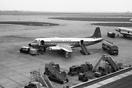 Vickers 732 Viscount G-ANRS first flew on 7th June 1955 at Weybridge, ...