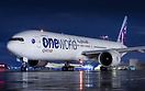 Qatar Airways second Oneworld painted aircraft seen here after push-ba...