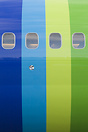 The most interesting part for sure of the new Transavia colour scheme