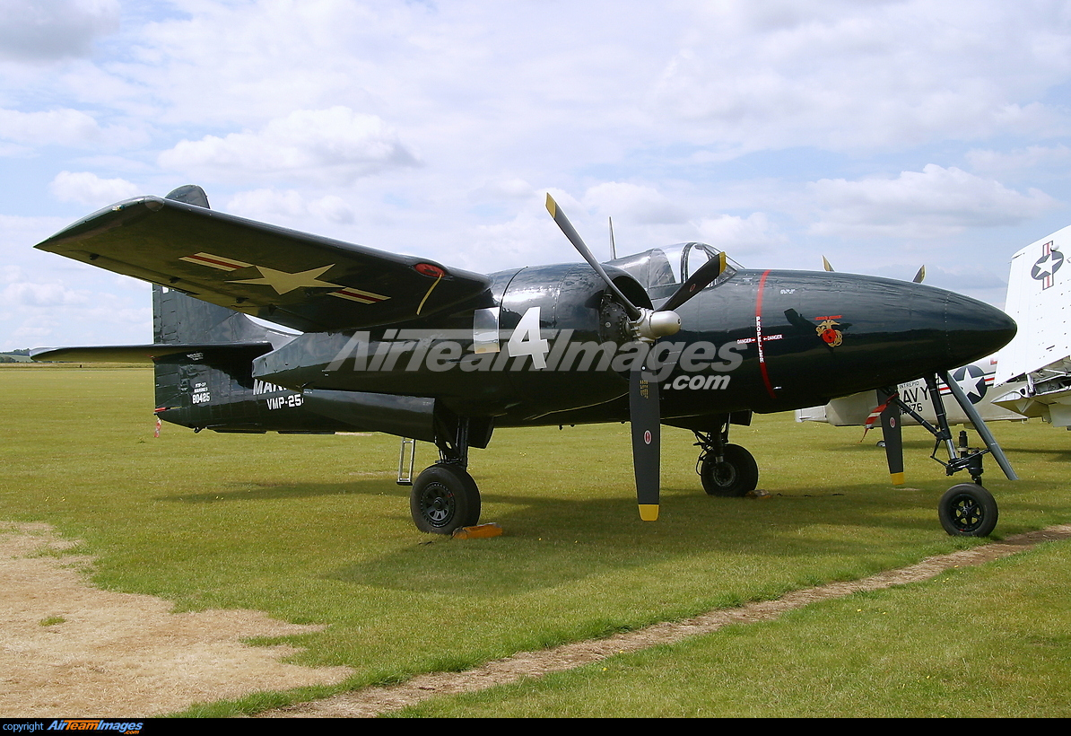 Grumman F7F Tigercat - Large Preview - AirTeamImages.com