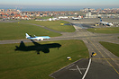 "Final approach at Ostend Airport during the ""Promotional Dreamflight"" ..."