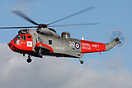 Prestwick based Sea King HU5 SAR XZ578