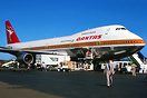 First 747 to land in Noumea.