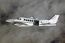 This Beech 99 was used for air to air photographs during one of the fa...